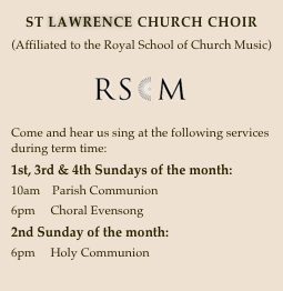 ST LAWRENCE CHURCH CHOIR
